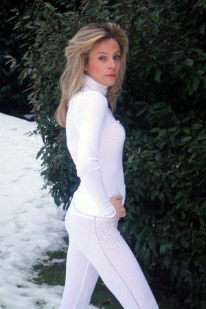 S'No Queen CLASSIC White leggings-0