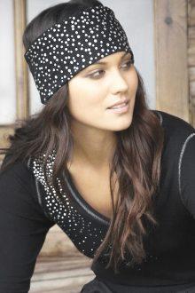 S'No Queen CLASSIC headband : Black -0