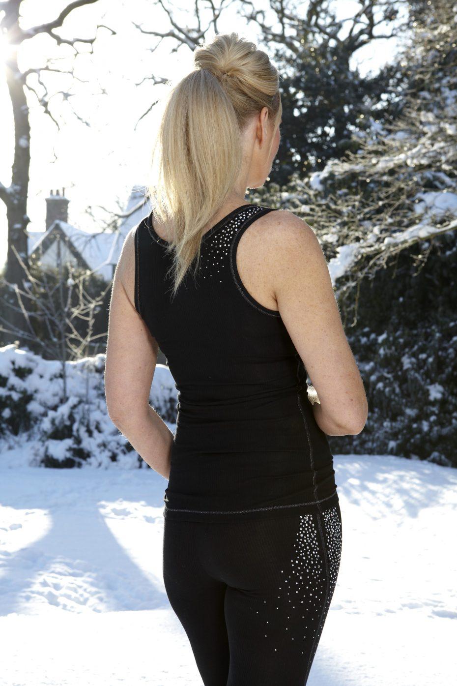 S'No Queen CLASSIC Vest: Black -380