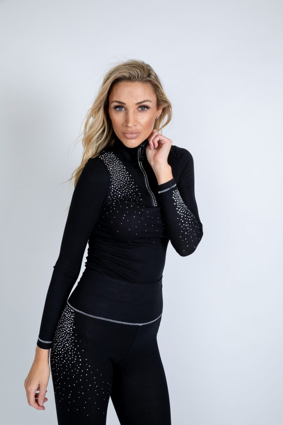 Classic zip polo base layer