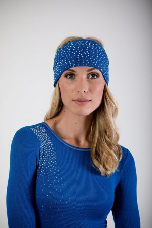 S'No Queen CLASSIC headband ELECTRIC BLU: NEW Colour-0