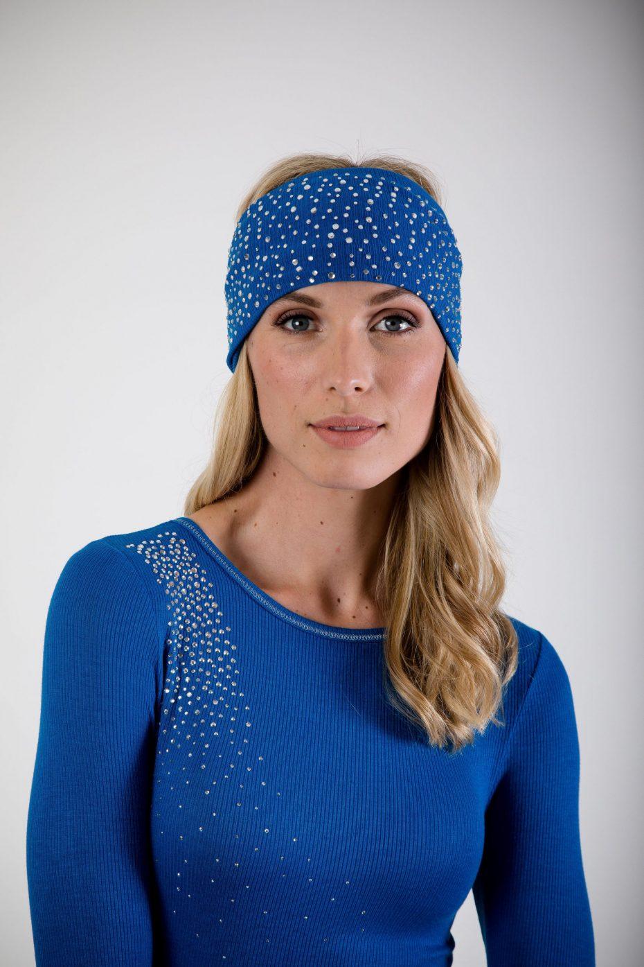 S'No Queen CLASSIC headband ELECTRIC BLU: NEW Colour-0