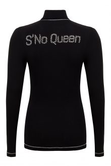 QUEEN Collection: Polo: Black -297