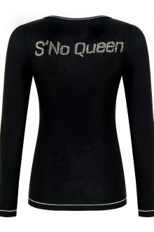 QUEEN Collection crew; Black NEW SIZES ARRIVED-260