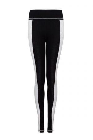 S'No Queen StripeTease leggings Black & White-406