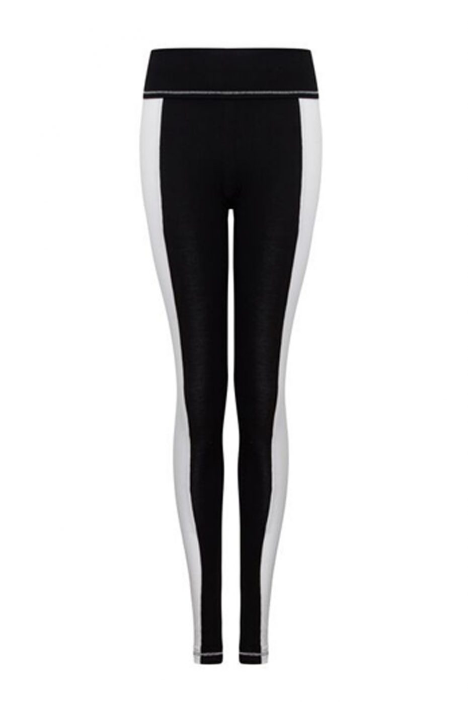 S'No Queen StripeTease leggings Black & White-406