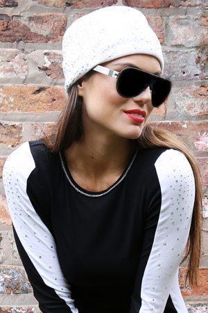 S'No Queen CLASSIC headband: White -0