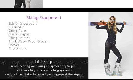 S'No Queen Ski Checklist 1