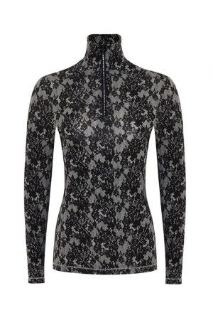 S'No Queen: 'Lace' Collection: Zip Polo SALE-468