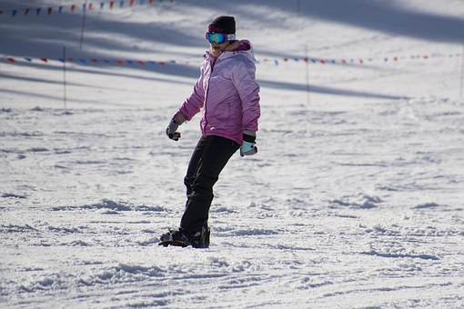 skiing early