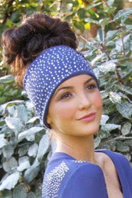 S'No Queen Indigo headband