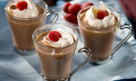 cocoa raspberry heaven