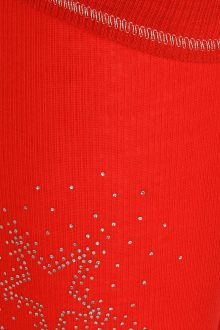 S'No Queen STAR legging: RED -537