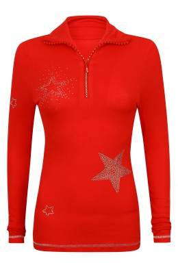 red ski thermals s'no queen