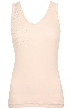S'No Queen CLASSIC vest: Crystal Pink -0