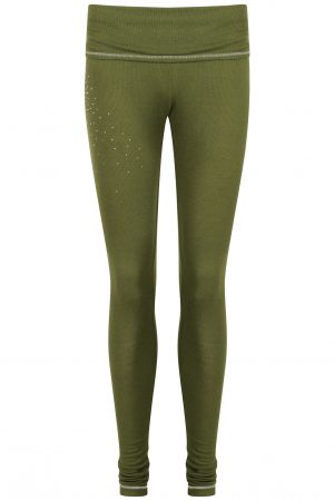 S'No Queen CLASSIC Khaki leggings: NEW DELIVERY-0