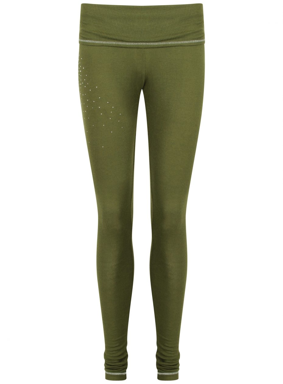 S'No Queen CLASSIC Khaki leggings: NEW DELIVERY-0