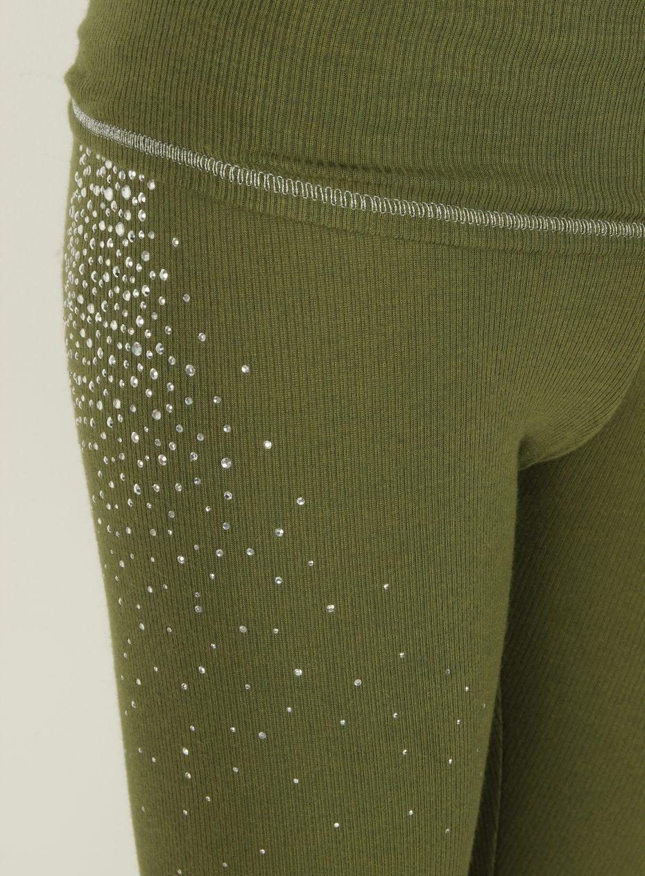 S'No Queen CLASSIC Khaki leggings: NEW DELIVERY-571