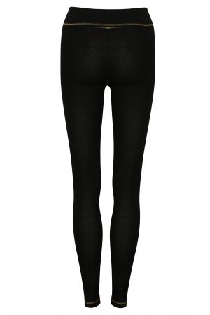 S'No Queen ROYAL legging: Black/Gold NEW SIZES ARRIVED-0