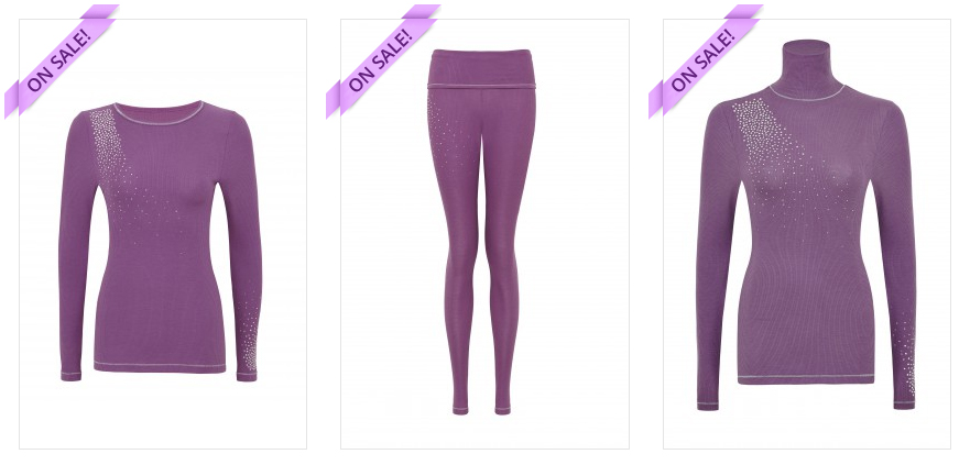purple designer thermals discount