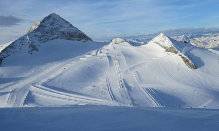 All year skiing at Hintertux, Austria