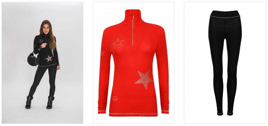 S'No queen star designer thermals