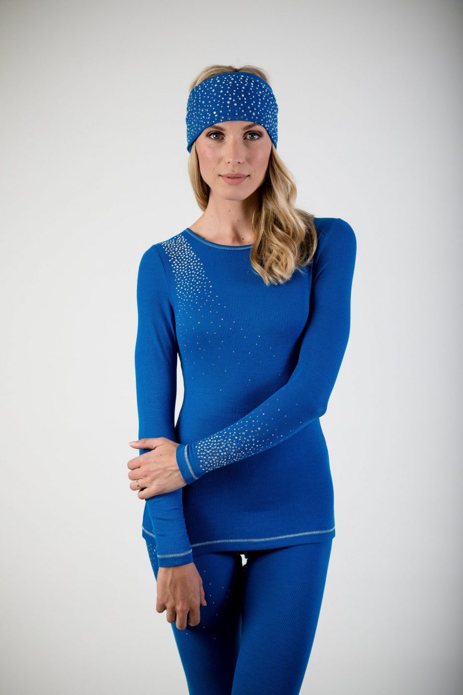 S'No Queen CLASSIC legging: Electric Blu: NEW COLOUR-0