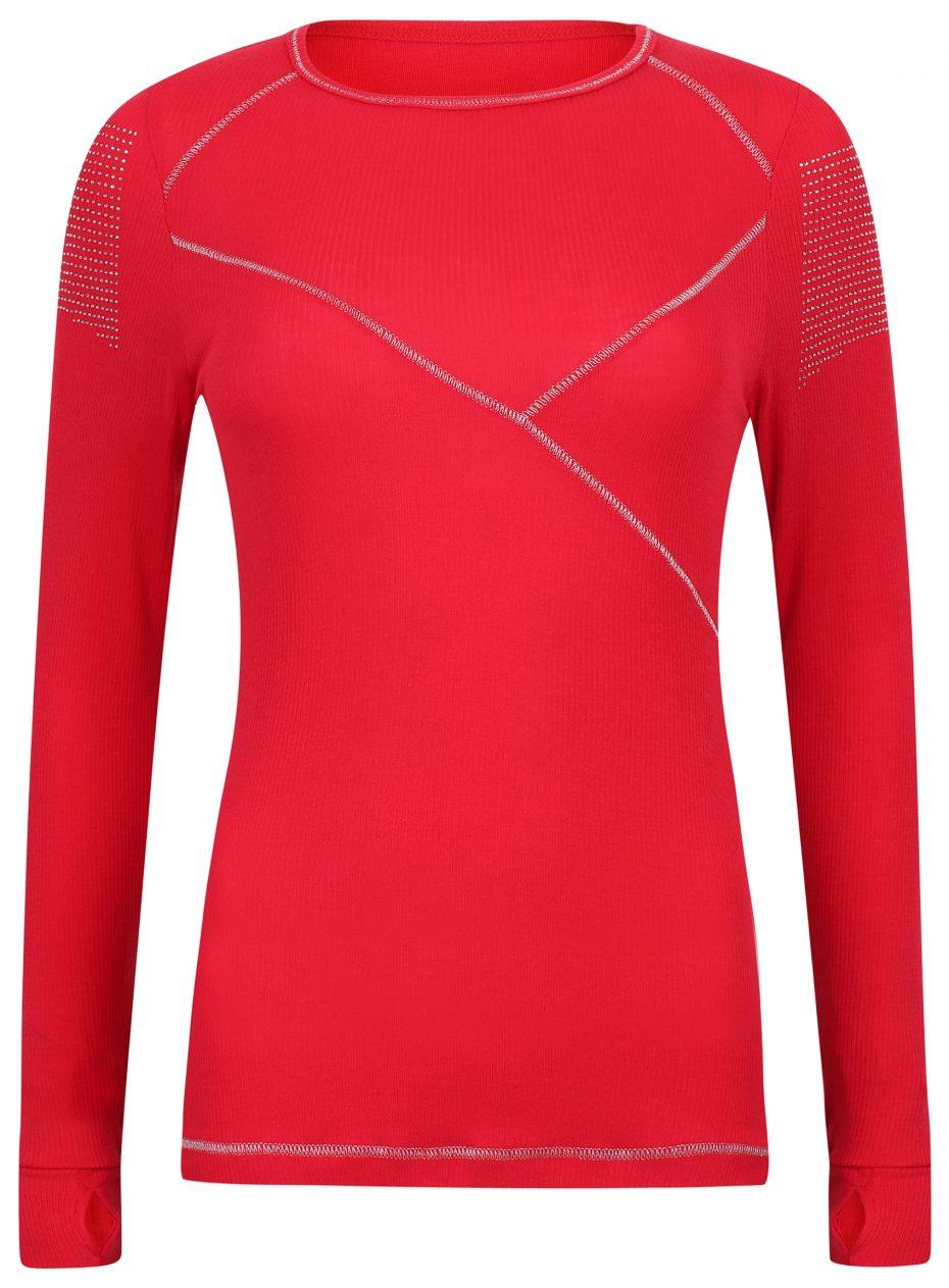 Whistler Sport Crew: Red: SALE-0