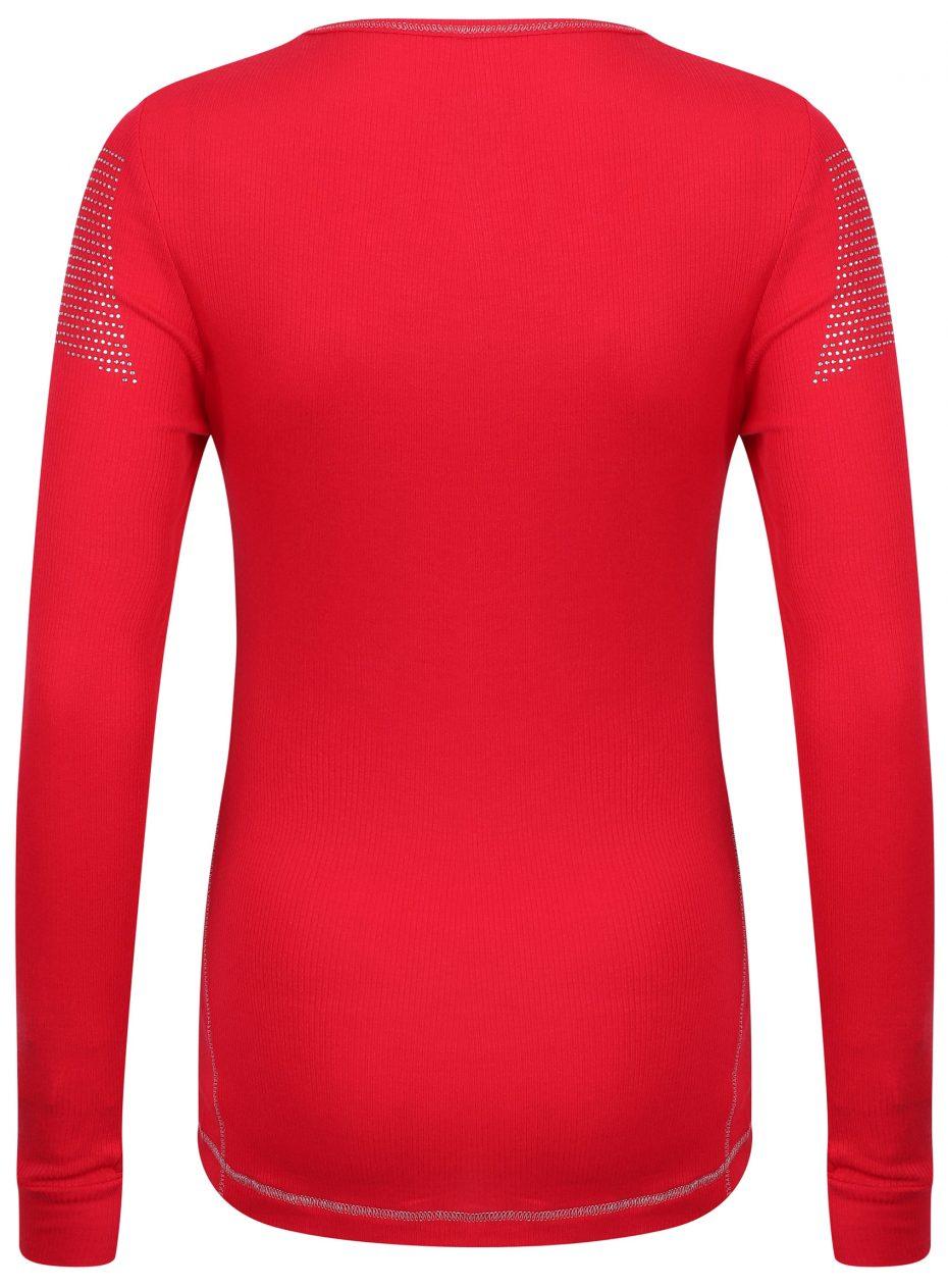 Whistler Sport Crew: Red: SALE-643