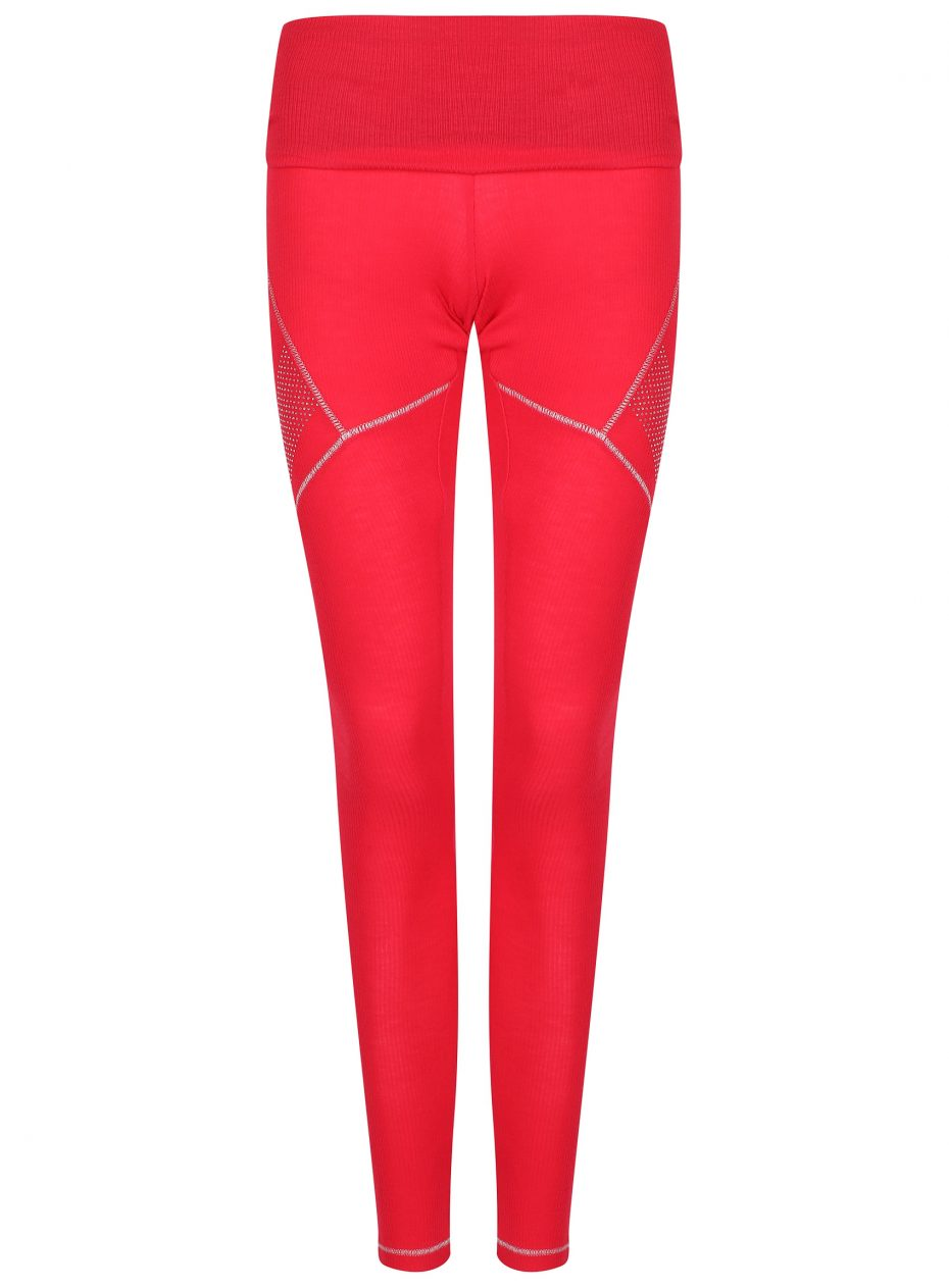 Whistler Sport Legging: Red: SALE-0