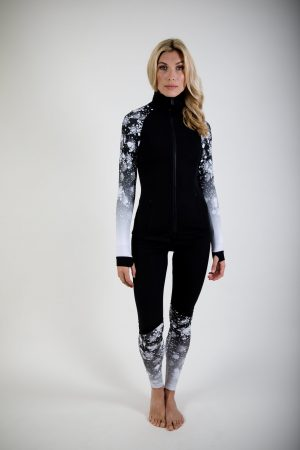 Follie SPORT SNo Flake Legging NEW SIZES ARRIVED-0