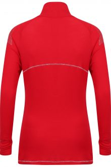 Whistler Sport Zip Polo: Red: SALE-718