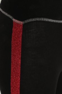 Fiesta Legging: Black & Red : SALE-715
