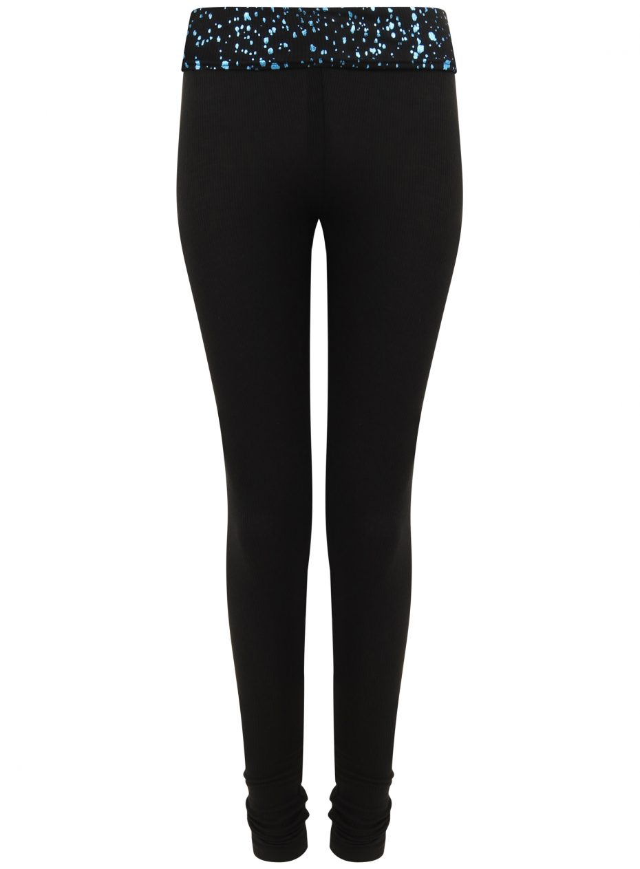 Gemini Leggings: Black & Blu Limited Edition NEW DELIVERY-0