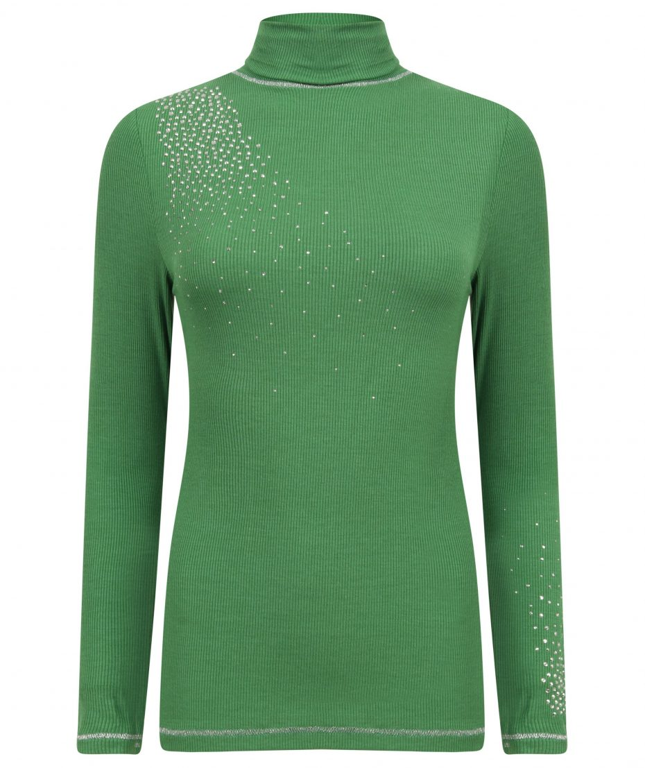 S'No Queen CLASSIC polo: Garden Green: SQ Exclusive-0