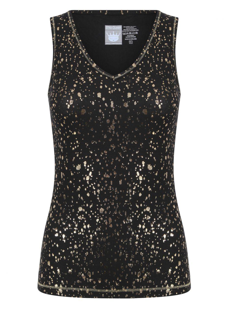 Gemini Vest: Black & Gold SQ Exclusive-0