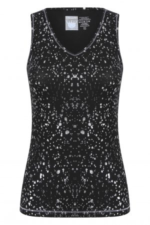 Gemini Vest: Black & Silver: SQ Exclusive-0