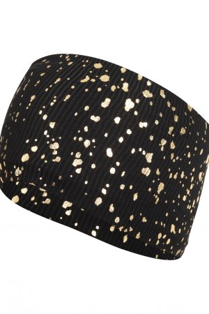 Gemini Headband: Black & Gold SQ Exclusive-0