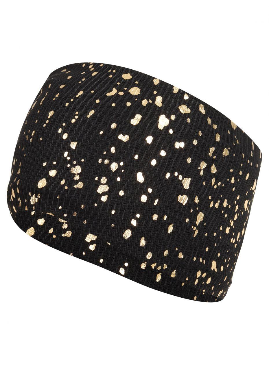 Gemini Headband: Black & Gold SQ Exclusive-0